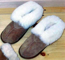 Classic Shearling Slippers Soft Sole